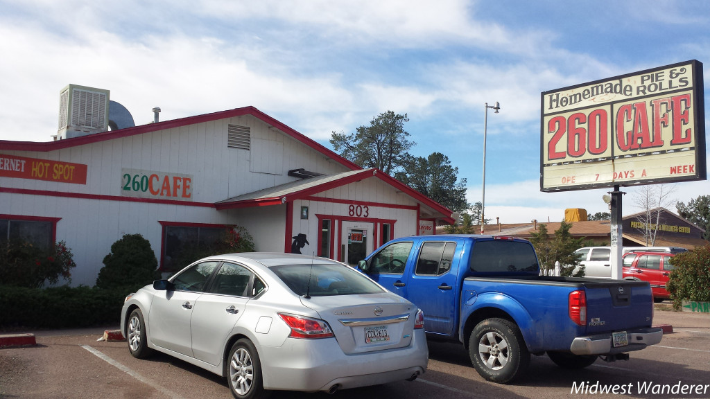 Miss Fitz 260 cafe, Payson AZ