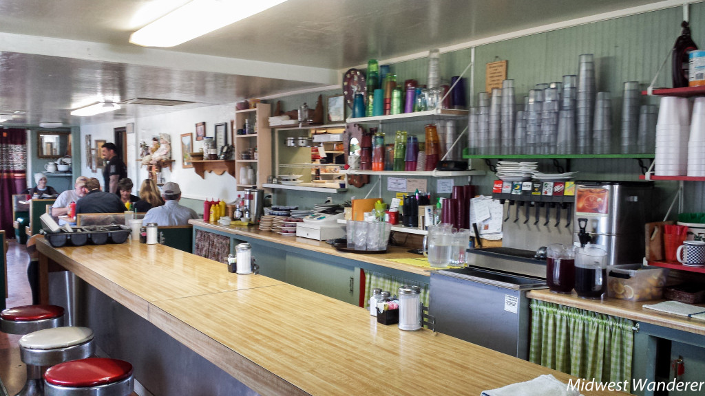Inside Miss Fitz 260 Cafe