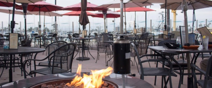 Dining Waterside in Oxnard, California