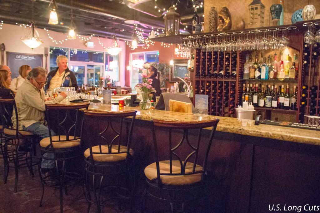 bar in Waterside Restaurant