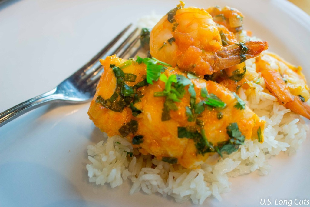 moqueca over rice
