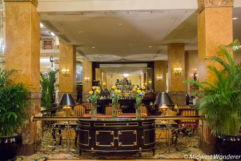 Lobby in Pfister Hotel
