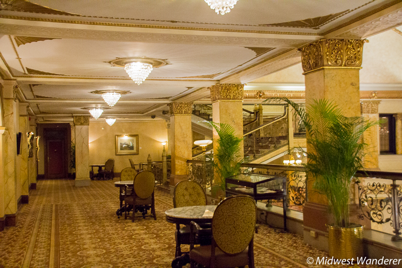 Pfister Hotel Mezzanine