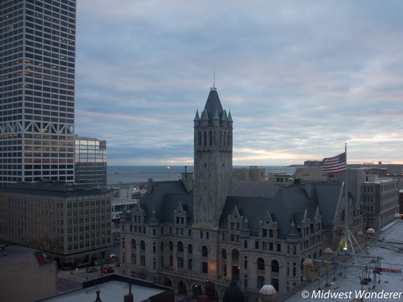 Sunrise view from Pfister Hotel