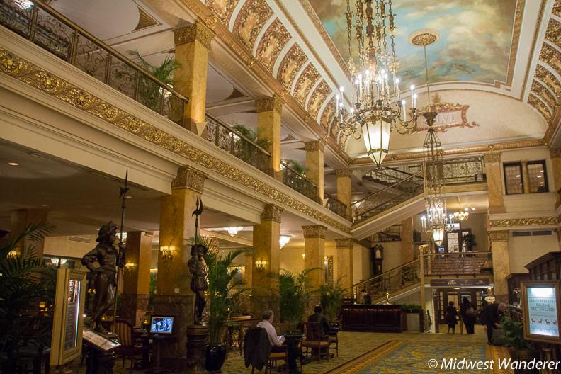 Pfister Hotel lobby