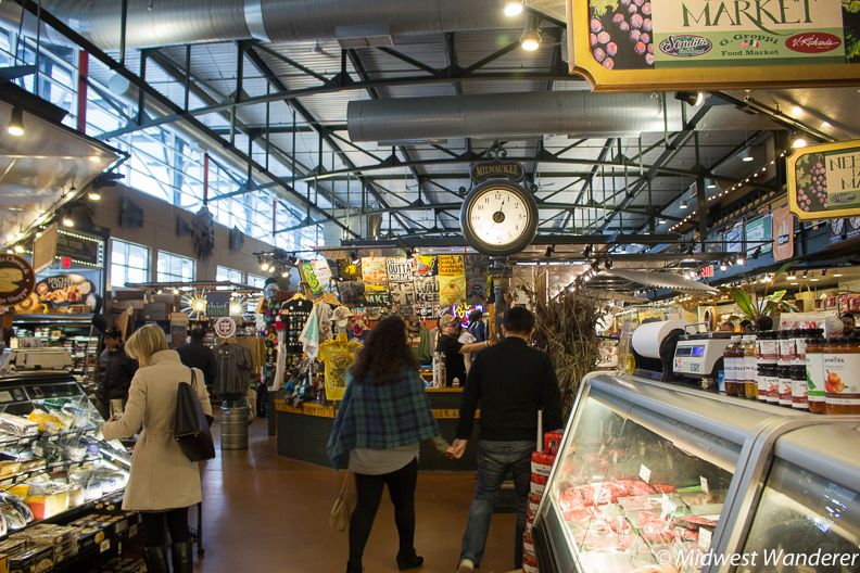 Milwaukee Public Market interior