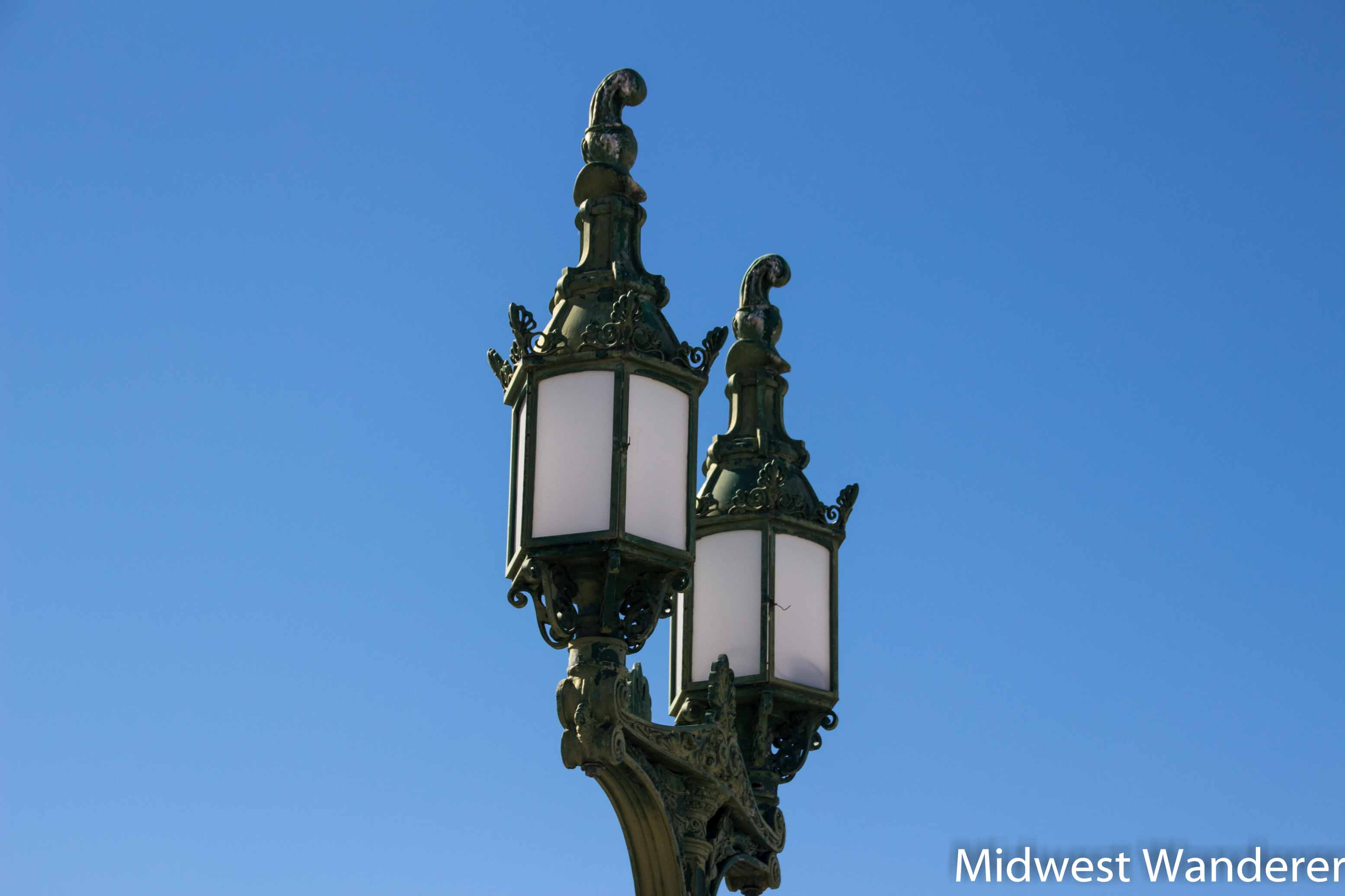 Lamp on London Bridge