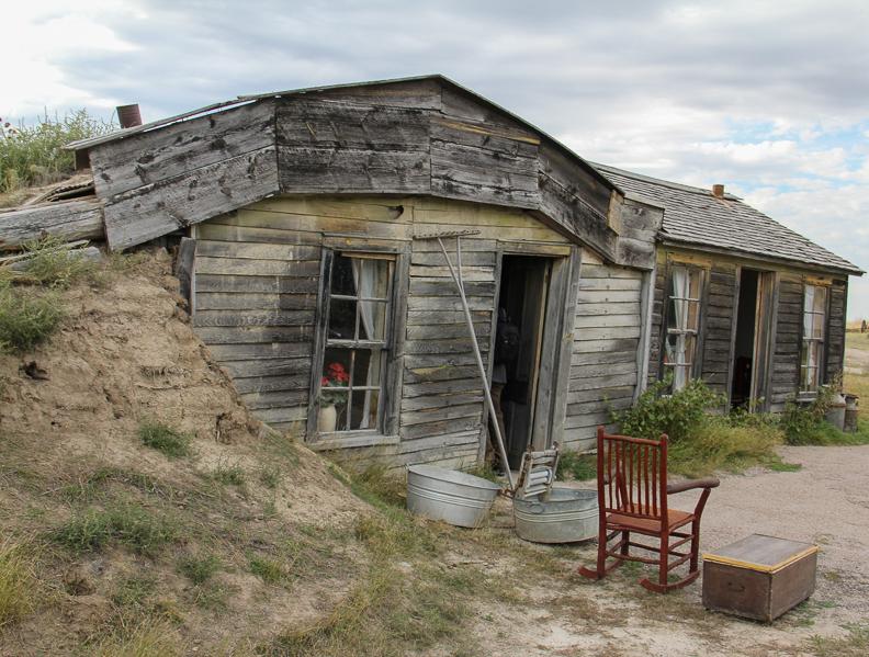 Prairie Homestead sod hoouse
