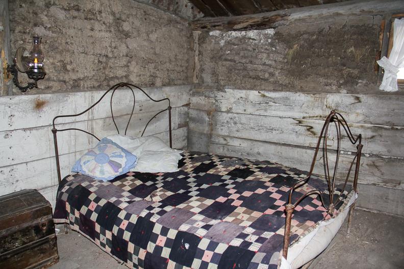 Prairie Homestead bedroom