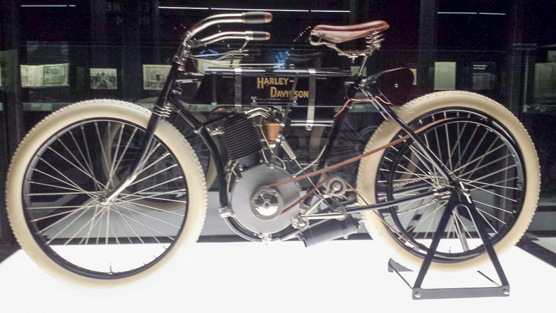Harley-Davidson Serial Number One