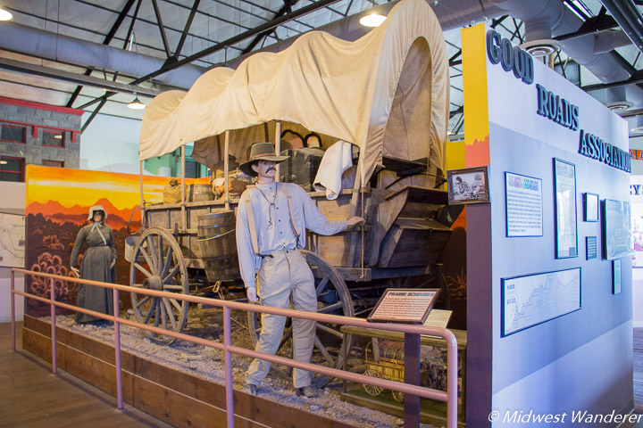 Prairie Schooner at Arizona Route 66 Museum