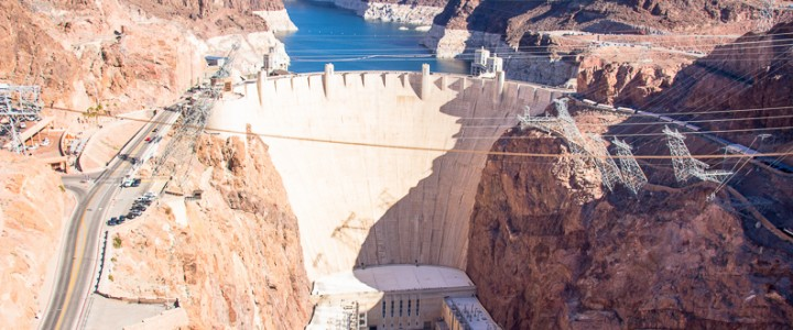 Hoover Dam from 3 Views