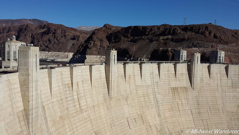 Hoover Dam closeup