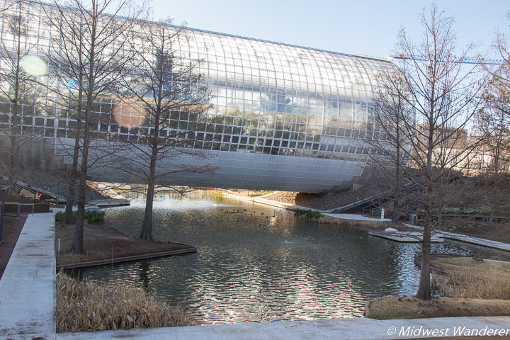 Crystal Bridge Conservatory exterior