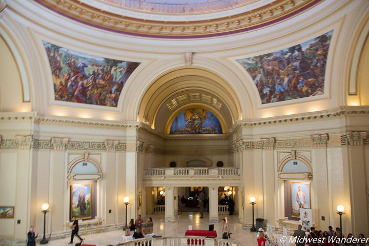Oklahoma State Capitol rotunda
