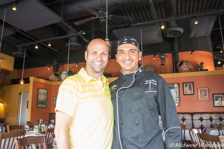 Ciao Bella owner Joe Scalzo and Chef Luis Hernandez