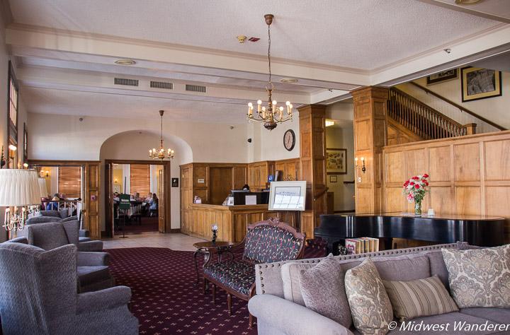 Boulder Dam Hotel lobby
