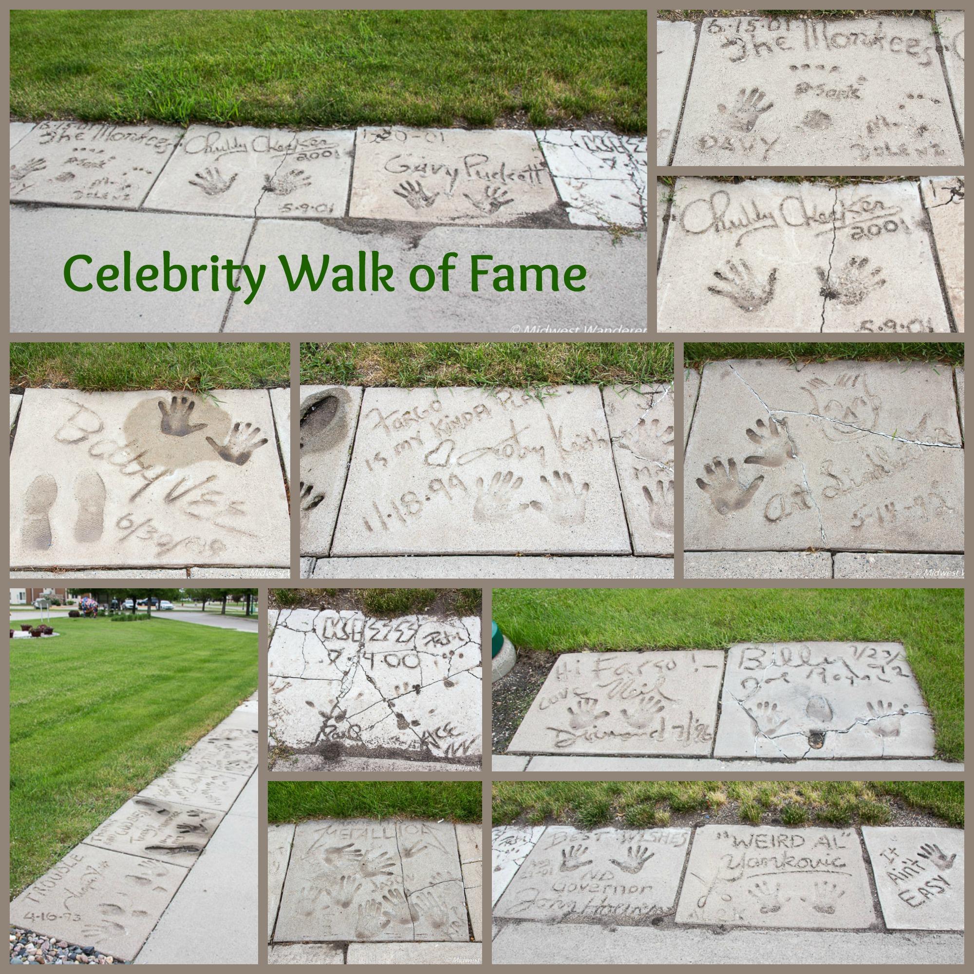 Celebrity Walk of Fame