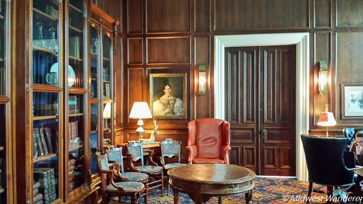 St. James Hotel historic library