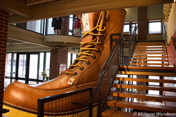 World's Largest Boot, Red Wing MN
