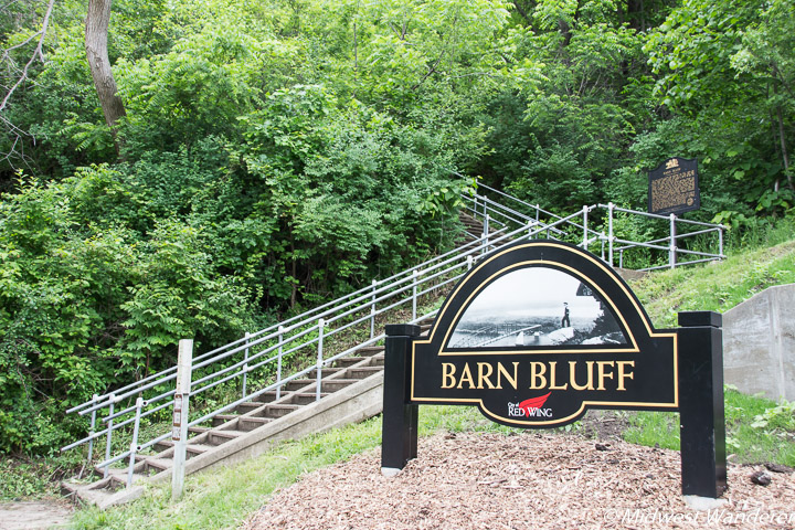 Barn Bluff Hiking Trails, Red Wing MN