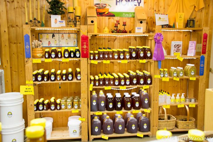 Hunter's Honey Farm shop