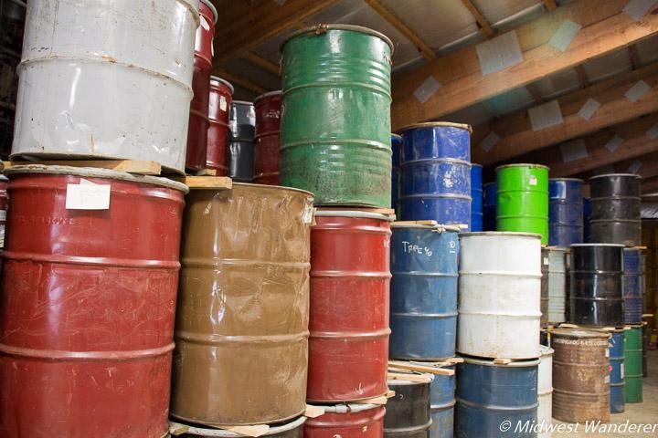 barrels of honey