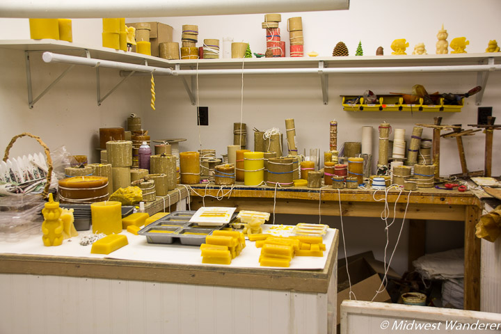 beeswax station