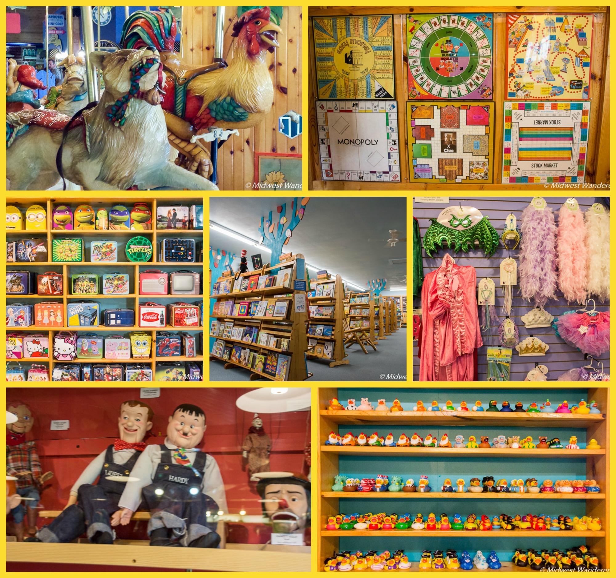 LARK Toys collage