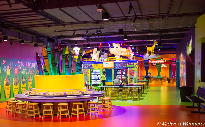 Crayola Experience: Mall of America Family Attraction - Midwest Wanderer