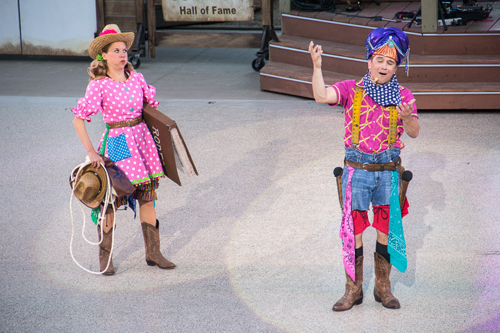 Medora Musical includes comedy