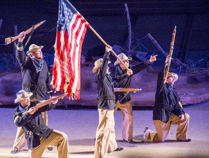 Rough Riders in Medora Musical