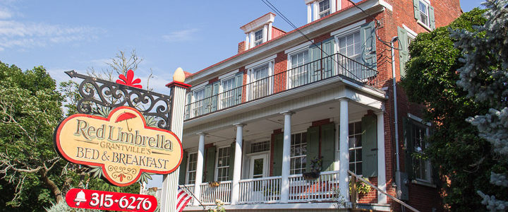 Red Umbrella Bed and Breakfast: Relaxing Retreat Near Hershey