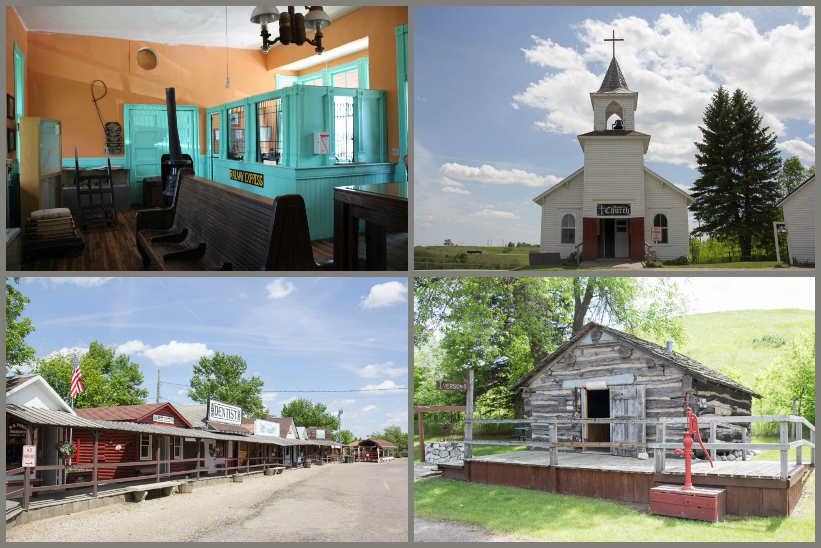 Frontier Village, Jamestown, North Dakota