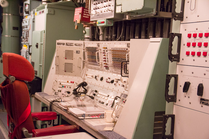 Ronald Reagan Minuteman Missile Site launch control center