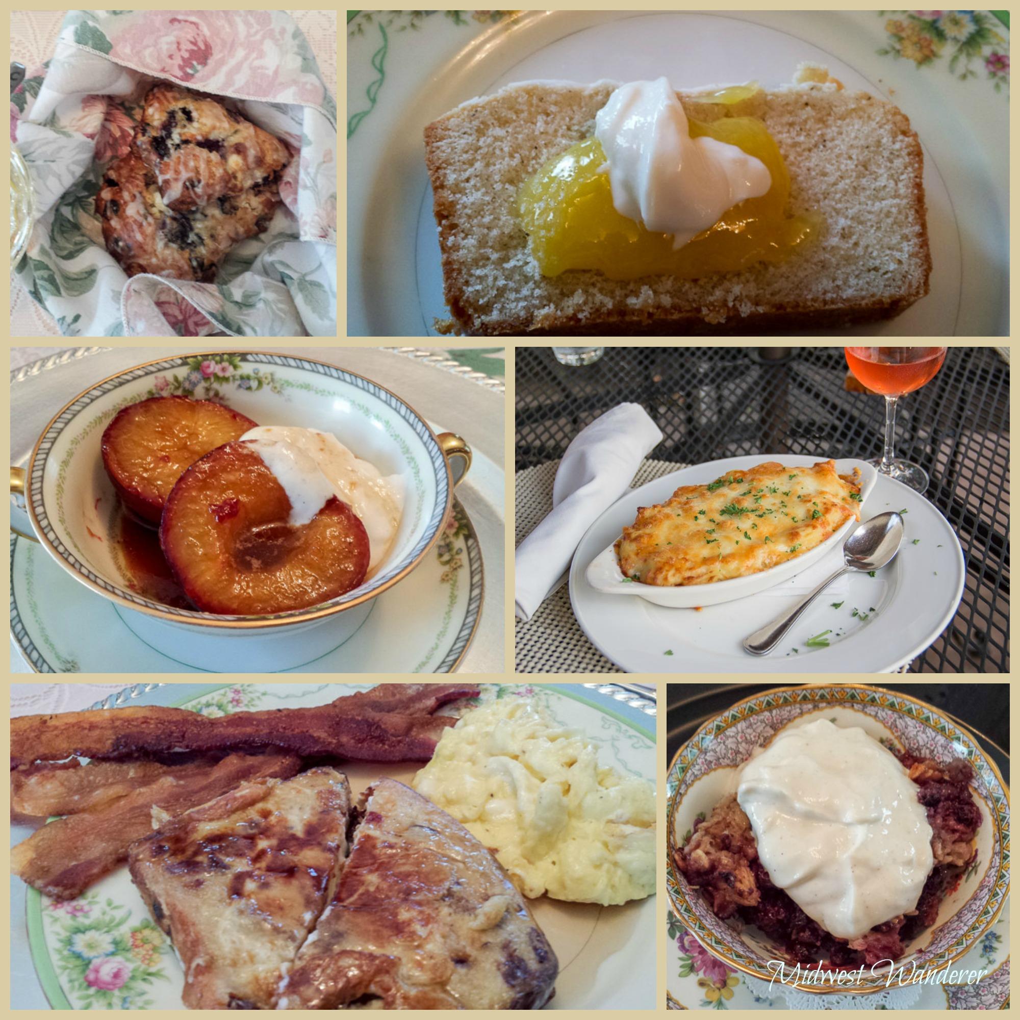 Murphy Guest House breakfast