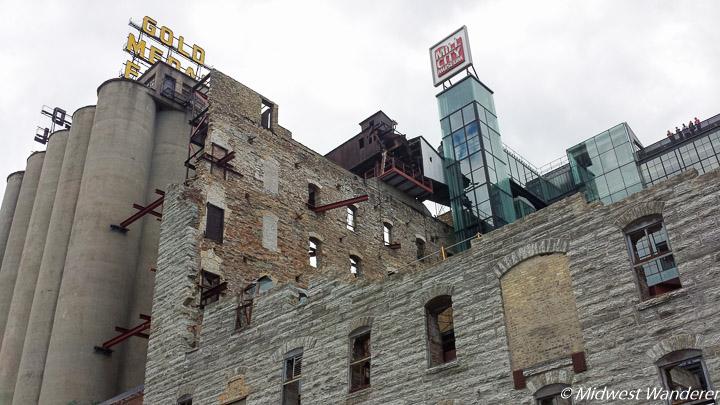 Flour mill ruins