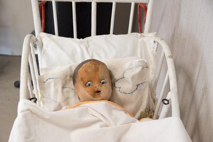 Doll at Prairie Village Museum, North Dakota