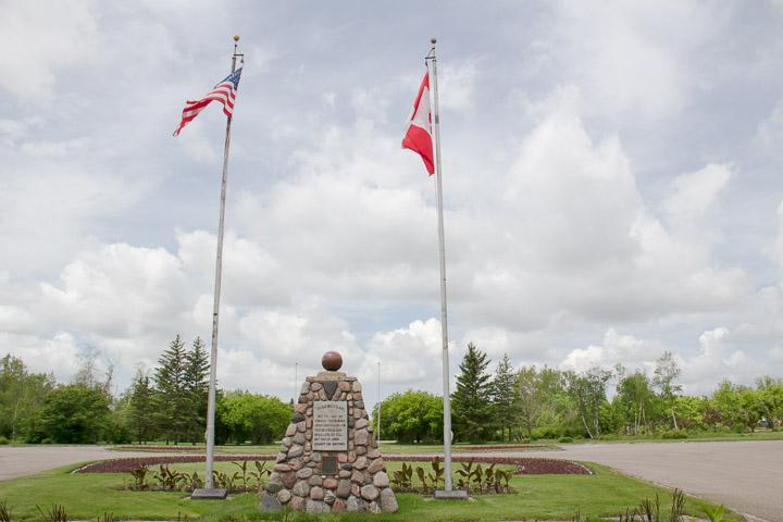 International Peace Garden entrance