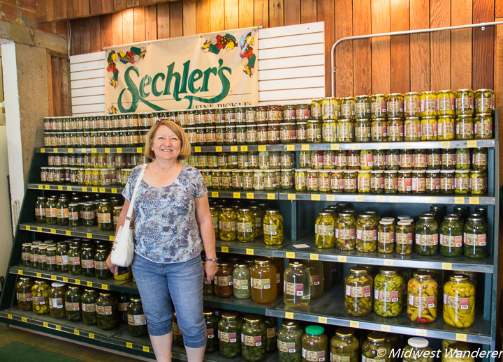 sechlers pickles showroom