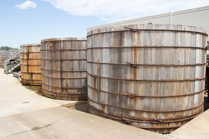 cypress aging tanks
