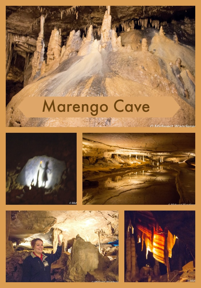 Marengo Cave collage