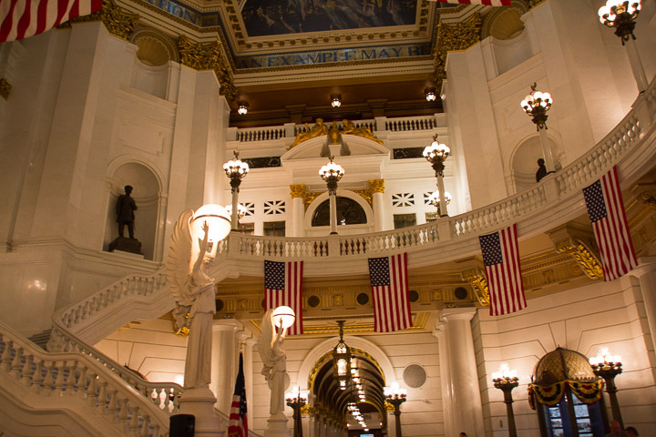Pennsylvania State Capitol Staircase 2