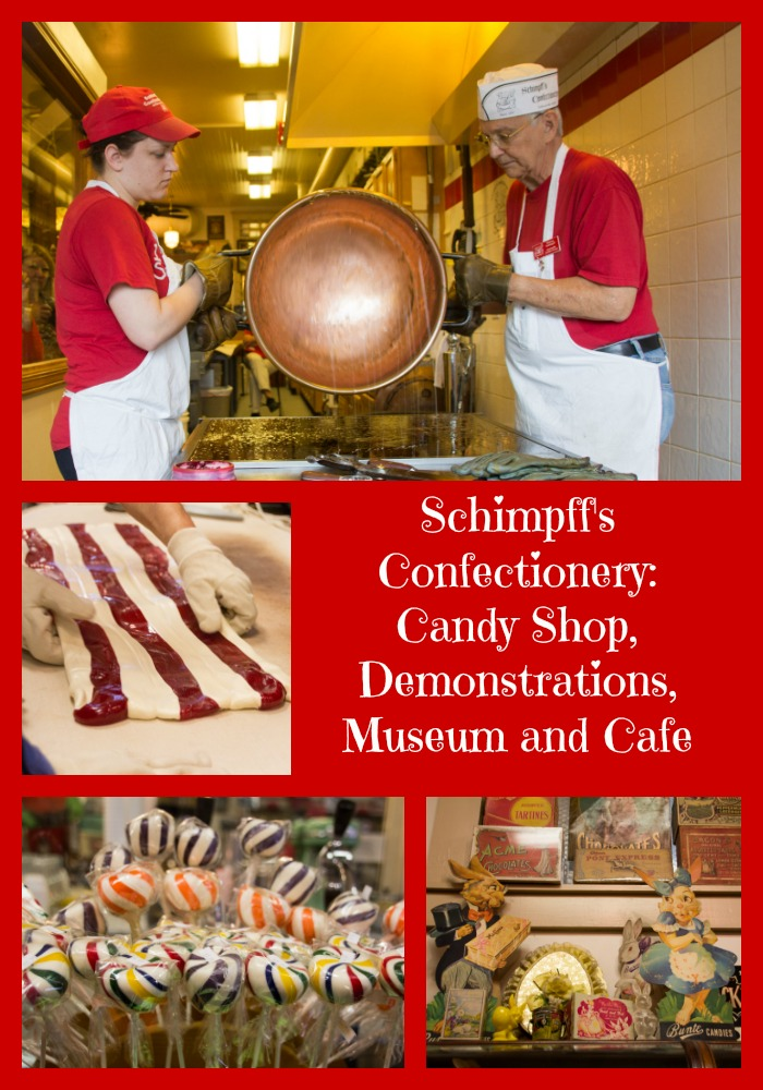 Schimpff's Confectionery collage