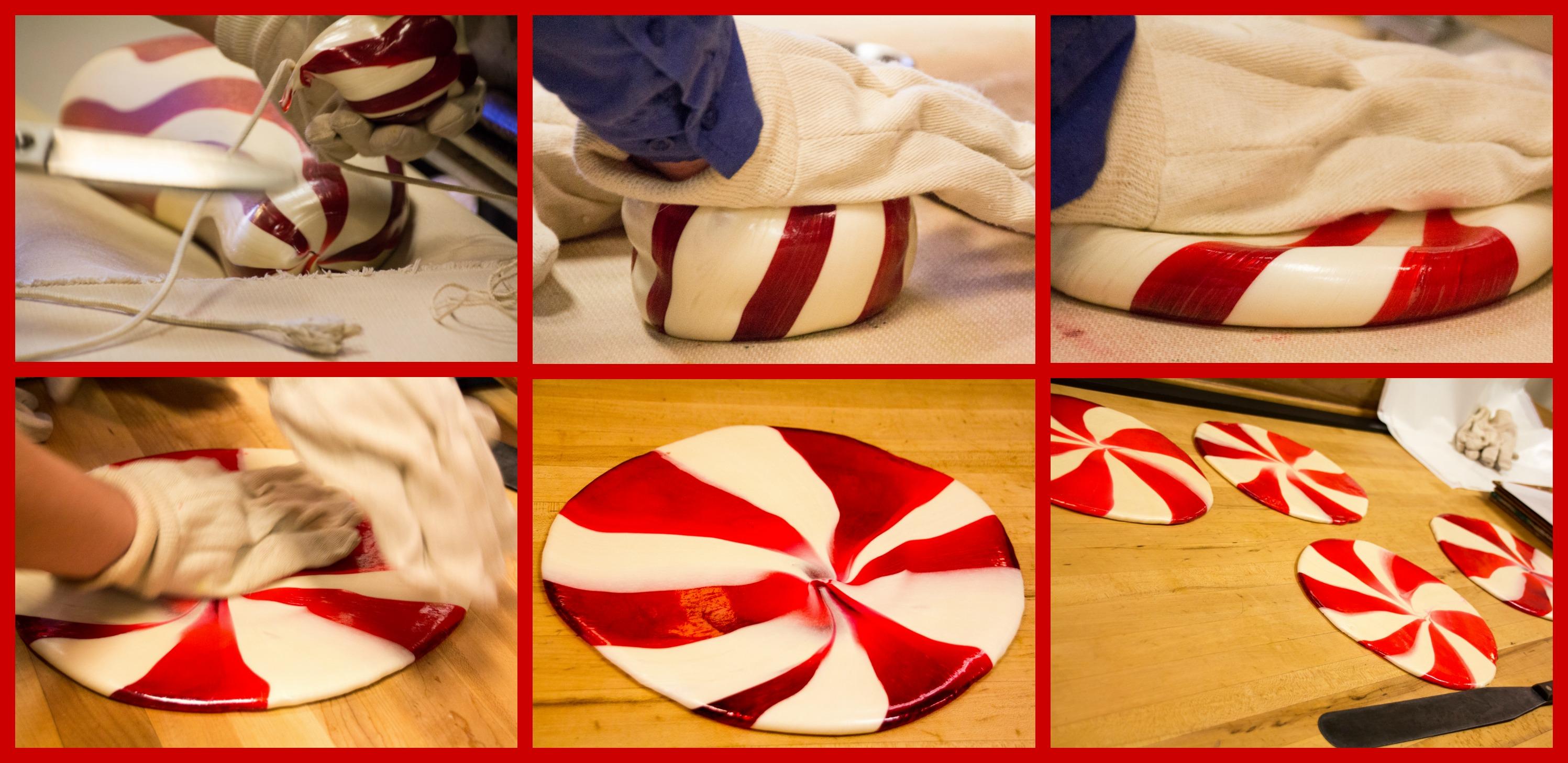 forming pinwheel disks