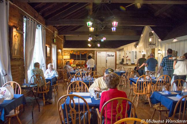 Key West Shrimp House dining area