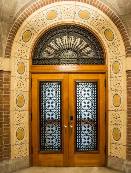 Doors to the original churc