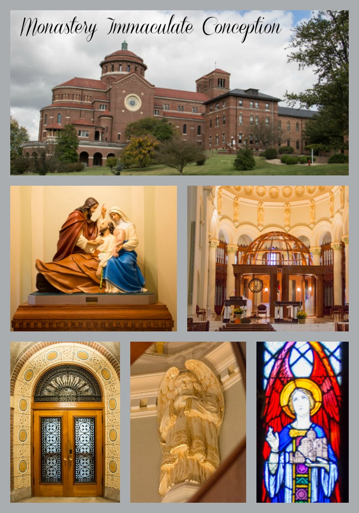 Monastery Immaculate Conception - collage