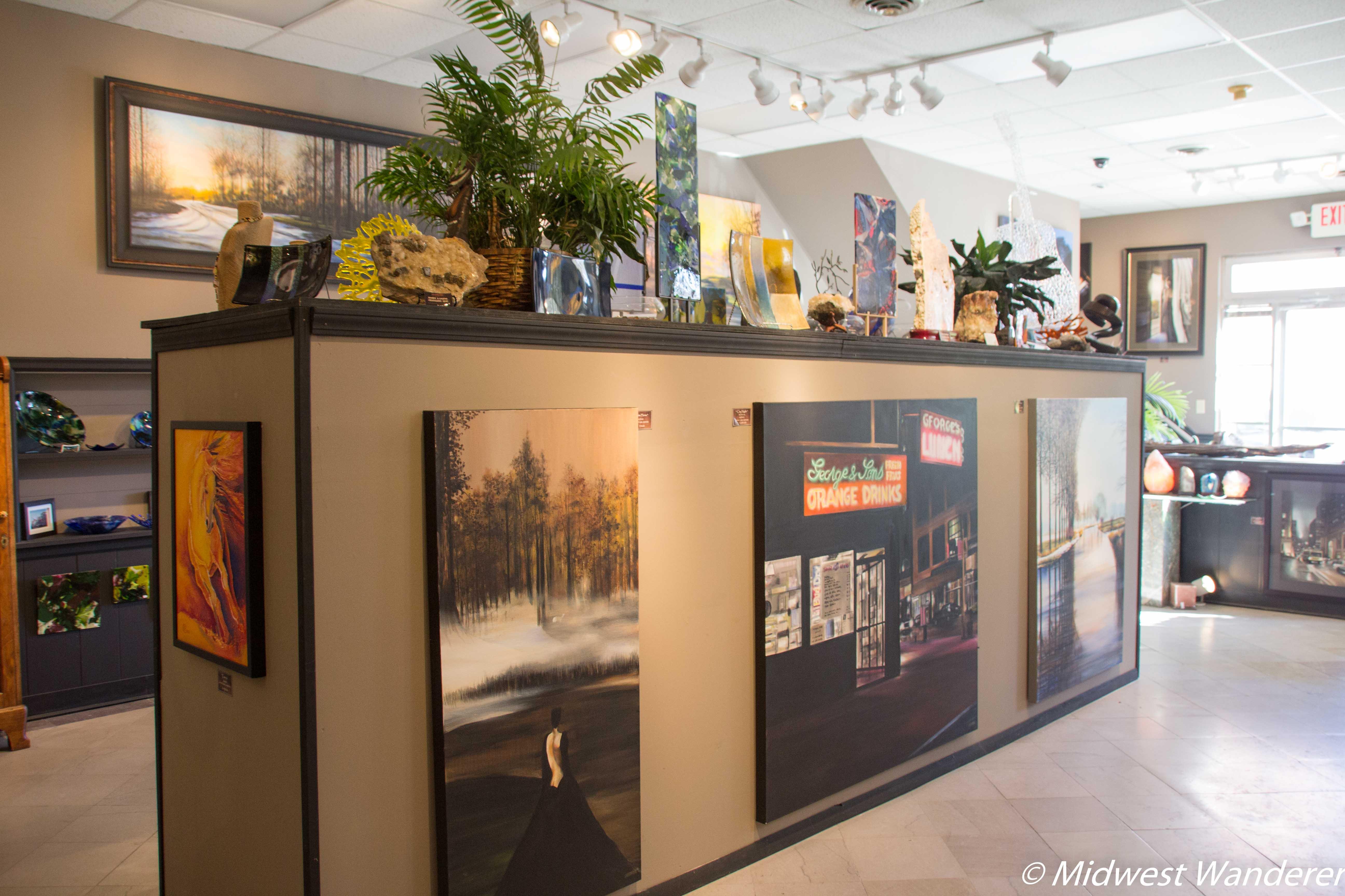 Skidmore Art Gallery, Galena