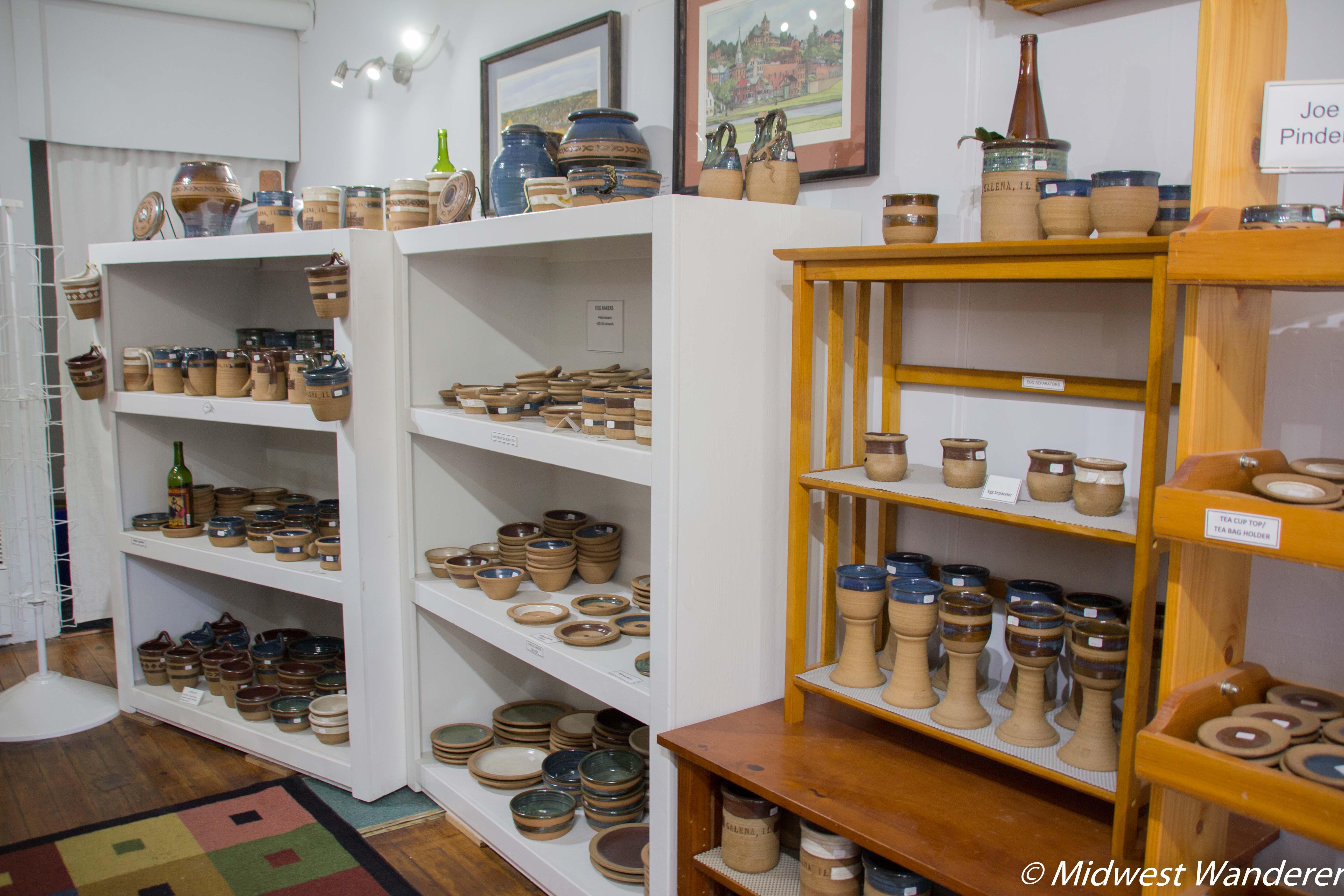 Pinder Pottery, Galena